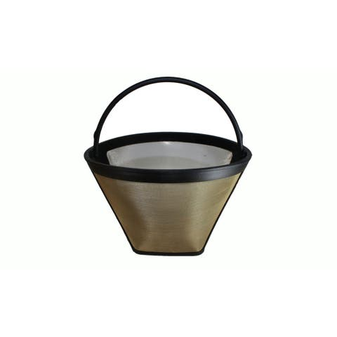 Replacement 10-Cup Thermal Washable Coffee Filter, Fits Melitta 46894 #4 Cone