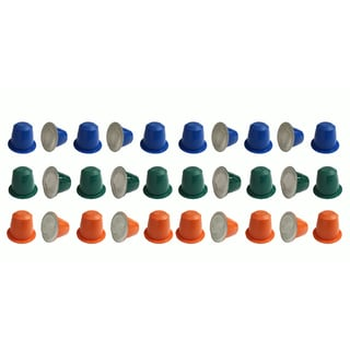 30 Coffee Capsules for Use in Most Nespresso Machines Morning Grind Afternoon Hustle The Closer Engineered by Crucial Coffee