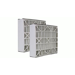 2pk Replacement 20x25x5 MERV-8 HVAC Furnace Filters, Fits Trion Air Bear, Compatible with Part 255649-102