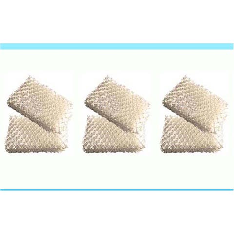 6pk Replacement Wick Filters, Fits ReliOn RCM832, RCM 832N, & DH-830 Humidifiers, Compatible with Part WF813