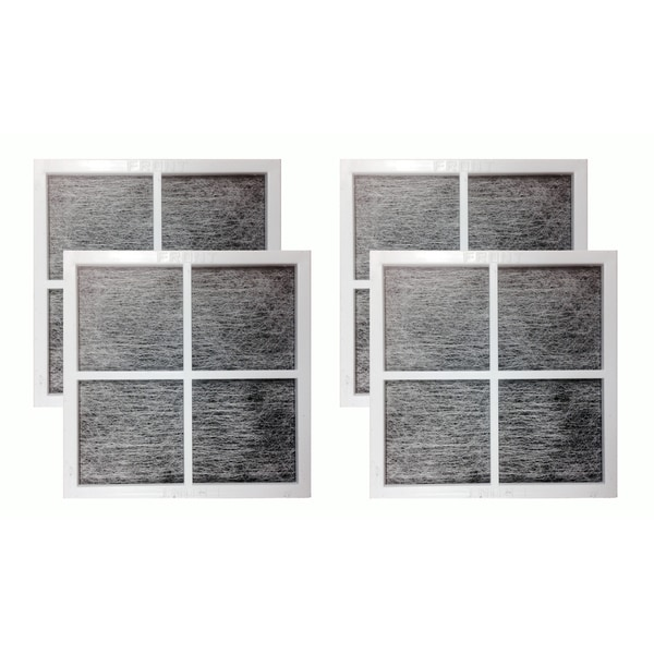4pk Replacement Fridge Air Filters, Fits LG LT120F, Compatible with Part 9918, ADQ73334008 & ADQ73214404