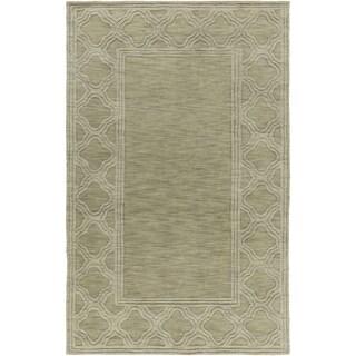 Handmade Halstead Wool Rug (9' x 13')