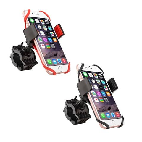 INSTEN Universal Motorcycle Bike Phone Mount Smartphone Holder with Secure Grip for iPhone XR/ XS Max/ X/ Samsung Note 9/Note 8