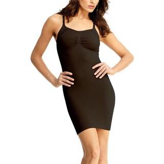 Memoi Women's Shaping Slip Dress with Adjust Straps Shaper