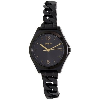 DKNY Women's Black Stainless Steel Parsons NY2426 Quartz Watch|https://ak1.ostkcdn.com/images/products/11403421/P18368951.jpg?_ostk_perf_=percv&impolicy=medium