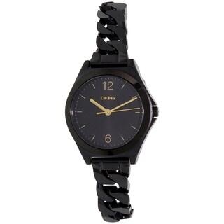 DKNY Women's Black Stainless Steel Parsons NY2426 Quartz Watch