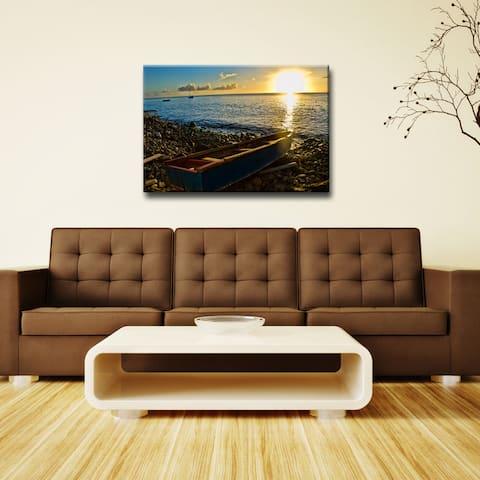 Chris Doherty 'Sunset I' Acrylic ArtPlexi Wall Art
