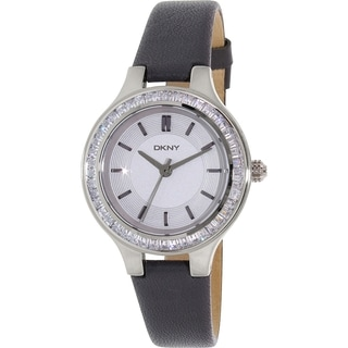 DKNY Women's Grey Leather Chambers NY2431 Quartz Watch