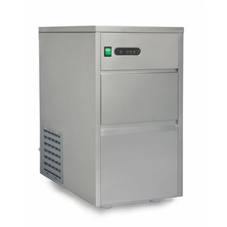 SPT 44-pound Automatic Stainless Steel Upright Ice Maker