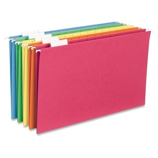 Sparco 1/5 Cut Colored Hanging Folders