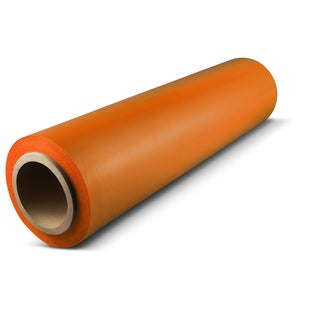 1,500-foot Orange Pallet Hand Wrap Plastic Stretch-wrap 16 Rolls