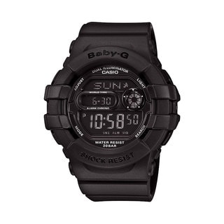 Casio Women's Black Resin Baby-G BGD140-1ACR Digital Watch
