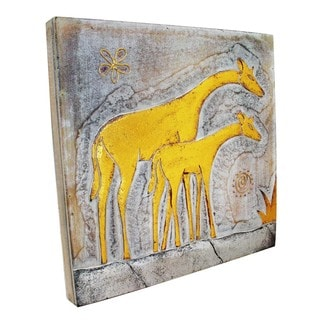 Giraffe and Baby Wall Panel (Indonesia)