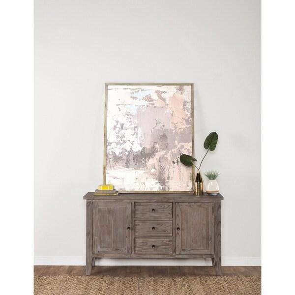 Aubrey Rustic Grey 65-inch Buffet by Kosas Home