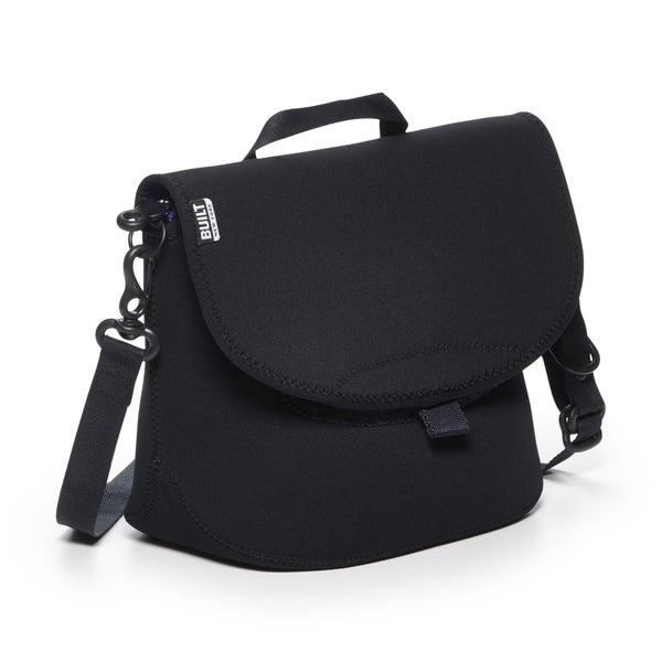 BUILT Messenger Lunch Bag- Black