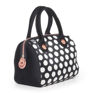 BUILT Uptown Lunch Tote Big Dot Black And White