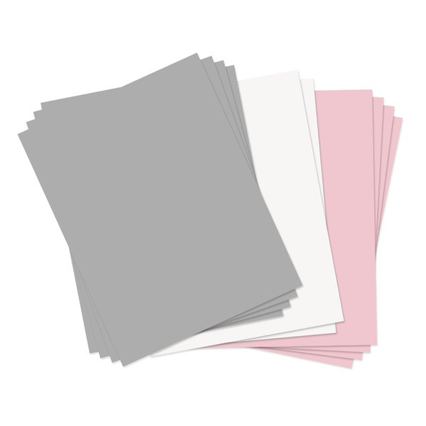 Sizzix assorted pastels 8 5 x 11 paper leather sheets 10 for Leather sheets for crafting