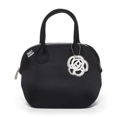 BUILT Downtown Lunch Tote Metallic Black