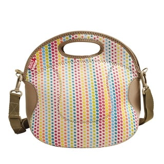 BUILT Spicy Relish Candy Dot Lunch Tote