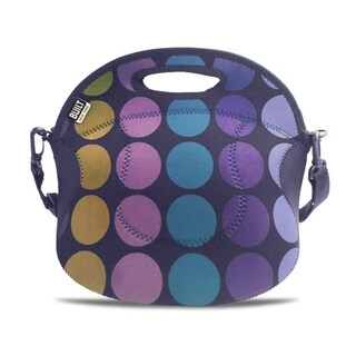 BUILT Spicy Relish Plum Dot Lunch Tote