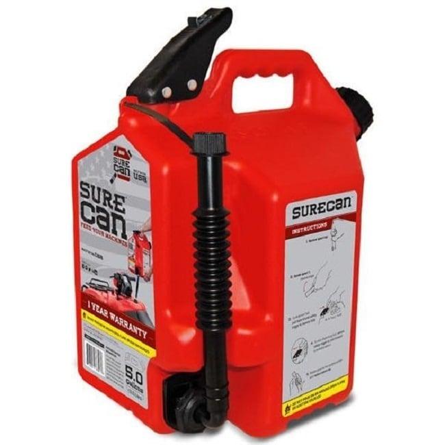 Specsignal Surecan 5.0 Gallon Gas, Red
