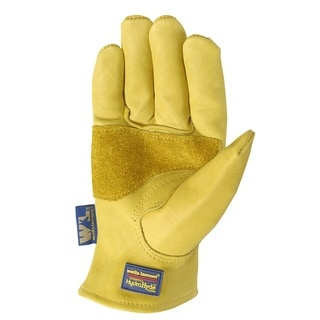 Wells Lamont HydraHyde Mens Saddletan Grain Cowhide Glove