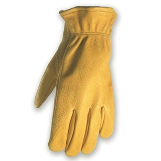 Wells Lamont Men's Grain Deer Skin Work Glove