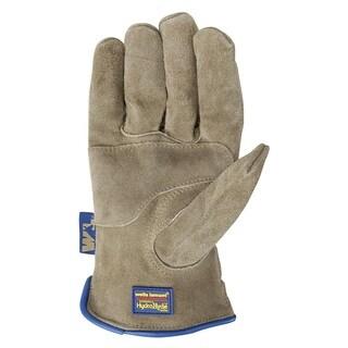 Wells Lamont HydraHydeTimber Split Cowhide Leather Glove
