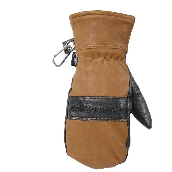 HydraHyde Men's Full Grain Leather Waterproof Mitten