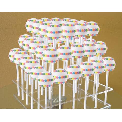 Cake Pops Acrylic 48-Pop Display Stand