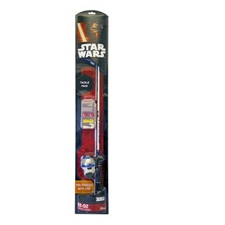 Zebco Star Wars Splash Junior Spincast Combo 2 Piece 5'6