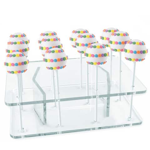 Cake Pops Acrylic 12-Pop Display Stand