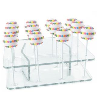 Cake Pops Acrylic 12-Pop Display Stand