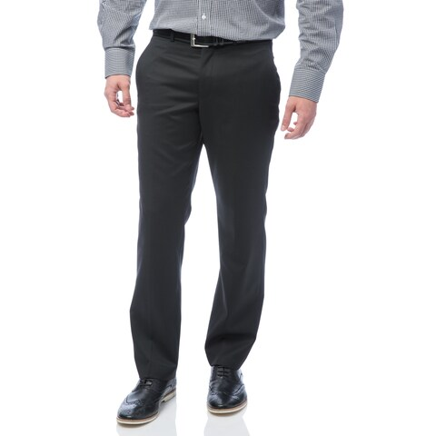 Kenneth Cole New York Wool Blend Men's Black Solid Suit Separate Pant