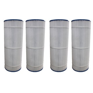 4pk Replacement Pool Filters, Fits Unicel C-8412, CX1200RE, Pro Clean 125 & Clearwater II 125
