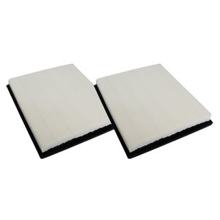 2pk Replacement Plastisol Air Filters, Fits Infiniti, Jeep, Nissan, & Suzuki, Compatible with Part A44727 & CA7440