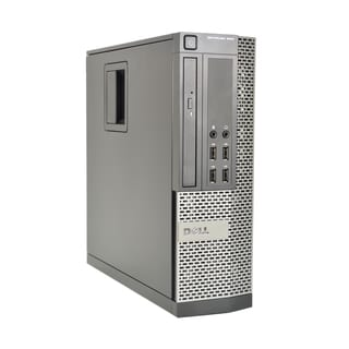 Dell Optiplex 990 Intel Core i7-2600S 2.8GHz 2nd Gen CPU 4GB RAM 250GB HDD Windows 10 Pro Small Form Factor Computer (Refurbis