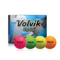 Volvik Crystal Dozen Golf Balls