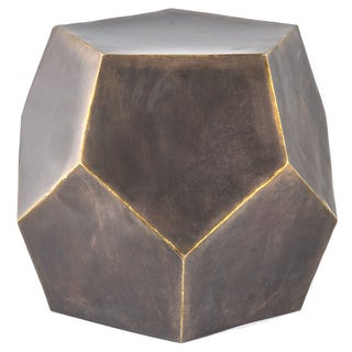 Diamond Decor Stool Bronze