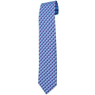 Davidoff 100-percent Twill Silk Blue Neck Tie