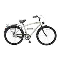 Body Glove Bommie Cruiser Bike, 26 inch wheels, oversized frame, Men's Bike, Silver