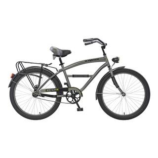 Body Glove Greystone Cruiser Bike, 24 inch wheels, oversized frame, Boy's Bike, Gunmetal Gray|https://ak1.ostkcdn.com/images/products/11404613/P18369951.jpg?impolicy=medium