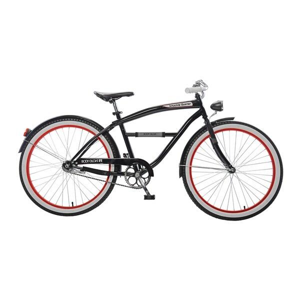 Body Glove Knuckle Duster Cruiser Bike, 26 inch wheels, oversized frame, Men's Bike, Black