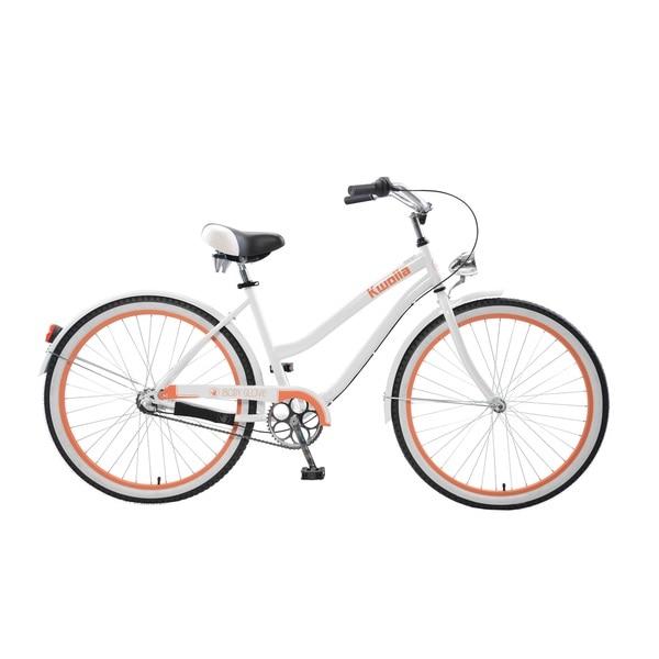 Body Glove Kwolla Cruiser Bike, 26 inch wheels, oversized frame, Women's Bike, White