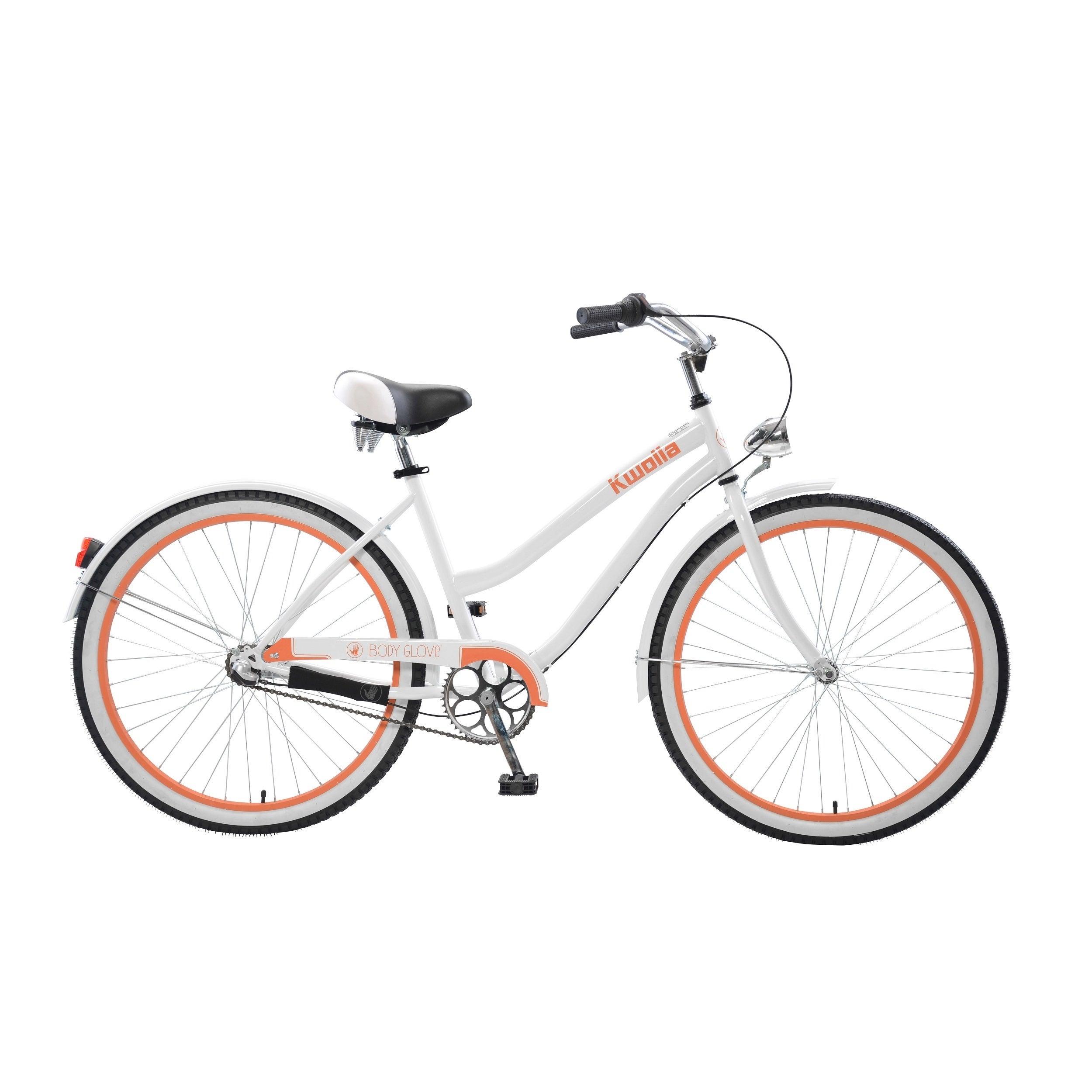 Body Glove Kwolla Cruiser Bike, 26 inch wheels, oversized frame, Women's Bike, White (White) thumbnail