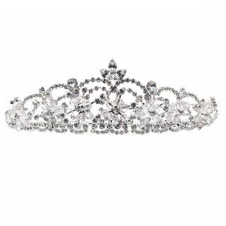 Kate Marie Rhinestone Crystal Crown Tiara Headband