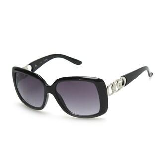 GUESS GU6250 Black Plastic Rectangular Frame Men's Sunglasses