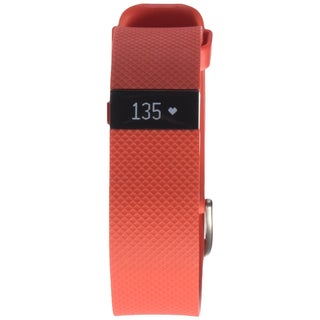 Fitbit Charge HR Wireless Activity Wristband (Tangerine - Large)