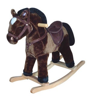 SB Kaboodles Junior Plush Rocking Horse with Sound