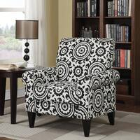 Clay Alder Home Union Black Medallion Arm Chair
